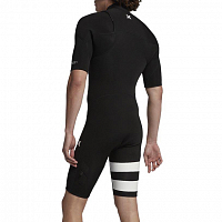 Hurley M ADVANTAGE PLUS 2/2 S/S SPRINGSUIT BLACK