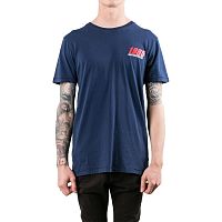 Rusty TRAILED SHORT SLEEVE TEE Navy Blue