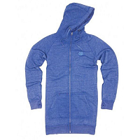 686 BURN-OUT PREM ZIP DRESS HOODY PUR