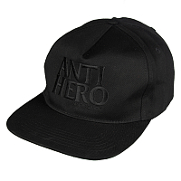 Anti-Hero ADJ BLK HERO EMB SNP BLACK