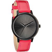 Nixon Kensington Leather BRIGHT PINK PATENT