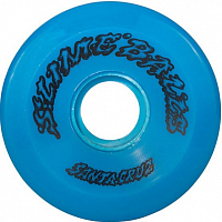 Santa Cruz Slime Ball 66s NEON BLUE