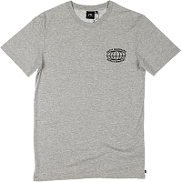 Rusty CHANNELS SHORT SLEEVE TEE GREY MARLE