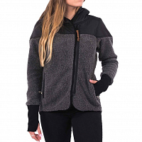 Holden Sherpa Zip Up CHARCOAL/BLACK