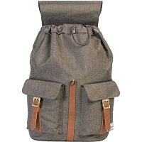 Herschel DAWSON Canteen Crosshatch/Tan Synthetic Leather