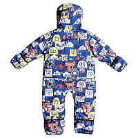 Quiksilver BABY SUIT I SNSU DAPHNE BLUE_ANIMAL PARTY