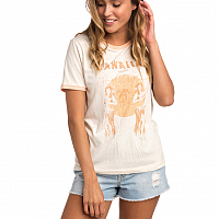 Rip Curl HULA MOON RINGER TEE OFF WHITE