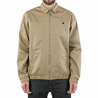 CARHARTT MADISON JACKET LEATHER / NAVY (RINSED)
