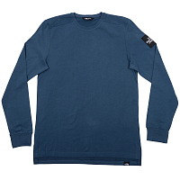 The North Face M L/S FINE 2 TEE BLUE WING TEA (N4L)