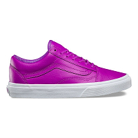 Vans OLD SKOOL (Neon Leather) neon purple/true white