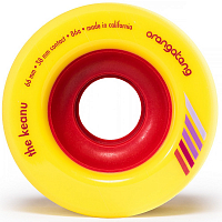 Orangatang KEANU WHEEL YELLOW