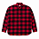 Carhartt WIP W' L/S FRANCINE SHIRT FRANCIS CHECK, BLAST RED