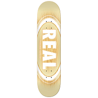 Real Skateboards RL BRD OVAL BURST FADE PP 7,56