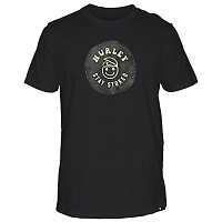 Hurley M STAY STOKED TEE BLACK