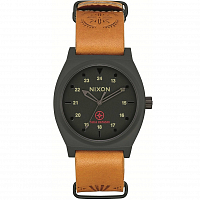 Nixon TIME TELLER LTD Black/Tan Taka