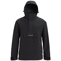 Burton M RETRO ANORAK JK TRUE BLACK