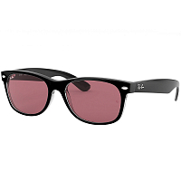 Ray Ban NEW WAYFARER BLACK/TRASPARENT/VIOLET PHOTO MIR GOLD