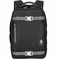 Nixon DEL MAR BACKPACK BLACK/WHITE