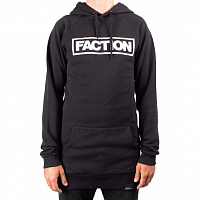 Faction TALL HOODIE BLACK/WHITE