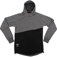 ROME MT PULLOVER CHARCOAL/BLK