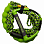 Liquid Force HYDRATAK SURF ROPE GRN