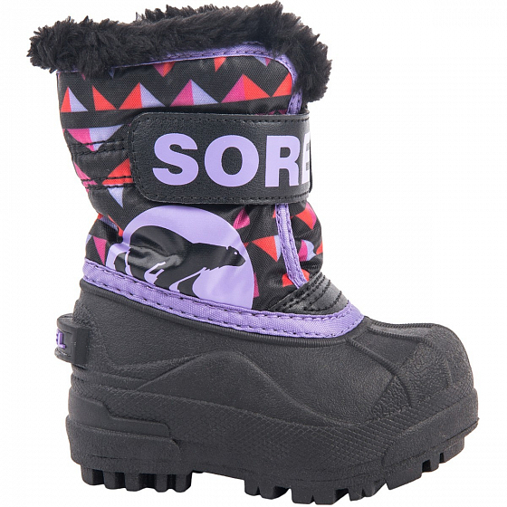 Сапоги SOREL TODDLER SNOW COMMANDER PRINT FW18 от SOREL в интернет магазине www.traektoria.ru - 1 фото