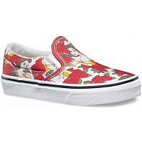 Vans Classic Slip-On (Disney) Belle/True white