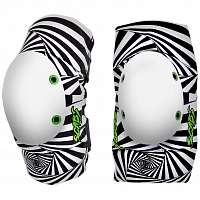 Smith Scabs ELITE HYPNO ELBOW PADS BLACK/WHITE
