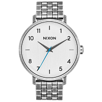 Nixon ARROW LEATHER SILVER / ANTIQUE