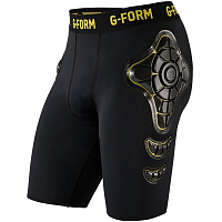 G-Form PRO-X SHORTS-YOUTH BLACK/YELLOW