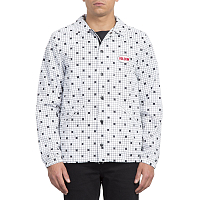 Volcom BREWS COACH JACKET White Print