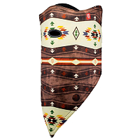 Airhole FACEMASK STANDARD - 2 LAYER NAVAJO