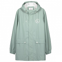 Makia COMPANY RAIN JACKET LIGHT GREEN