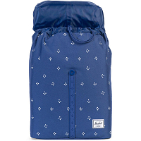 Herschel POST MID-VOLUME Focus/Twilight Blue Rubber
