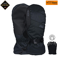 Pow WARNER GTX LONG MITT/WARM BLACK