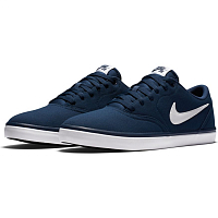 Nike SB CHECK SOLAR CNVS MIDNIGHT NAVY/WHITE
