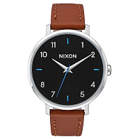 Nixon ARROW LEATHER BLACK / BROWN