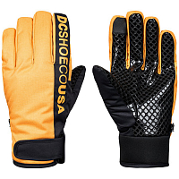 DC DEADEYE GLOVE M GLOV GOLDEN ROD