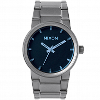 Nixon Cannon GUNMETAL/BLUE CRYSTAL