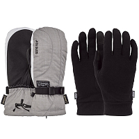 Pow CRESCENT GTX LONG MITT/WARM ASH