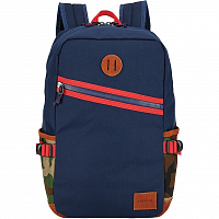 Nixon SCOUT BACKPACK NAVY/WOODLAND CAMO
