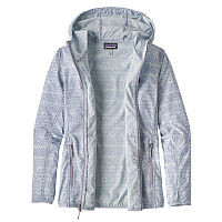Patagonia W'S BAJADAS HOODY Tradewinds Small: Light Violet Blue