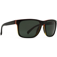 VonZipper LOMAX VIBRATIONS BLACK SATIN/VINTAGE GREY