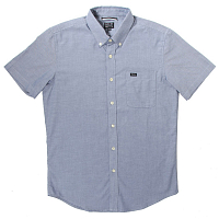 RVCA THAT'LL DO OXFORD SS DISTANT BLUE