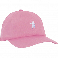 Grizzly OG BEAR STRAPBACK Pink / White