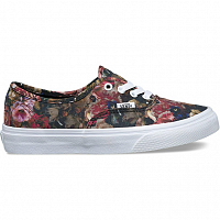 Vans Authentic (Moody Floral) black/true white