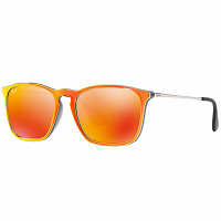 RAY BAN CHRIS GREY MIRROR FLASH ORANGE/