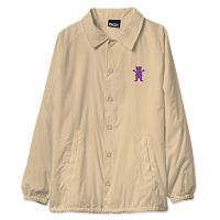 Grizzly OG BEAR COACHES JACKET Sand / Purple