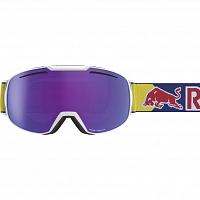 Spect RED BULL BUCKLER WHITE/PURPLE SNOW - ORANGE WITH VIOLET MIRROR CAT.