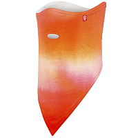 Airhole FACEMASK 2 LAYER ORANGE WASH